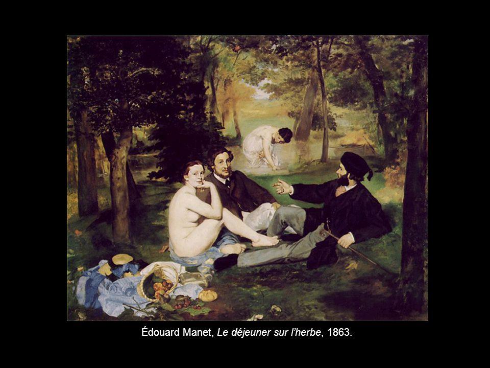 Édouard Manet, Le déjeuner sur l'herbe, 1863.