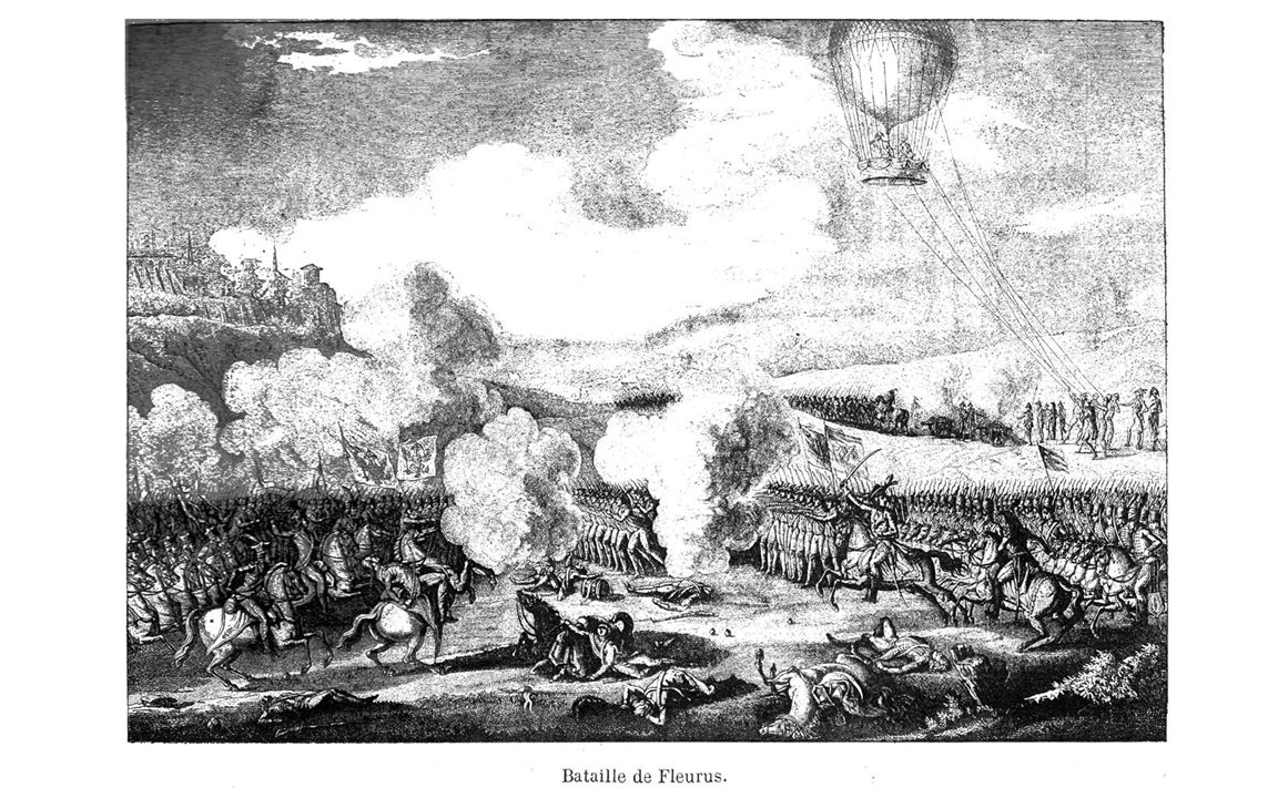 After the French Revolution, the new rulers became interested in using balloons to observe enemy manoeuvres.
