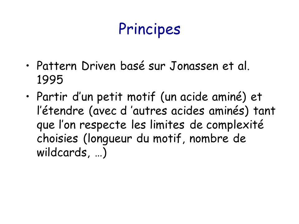 Principes Pattern Driven basé sur Jonassen et al.