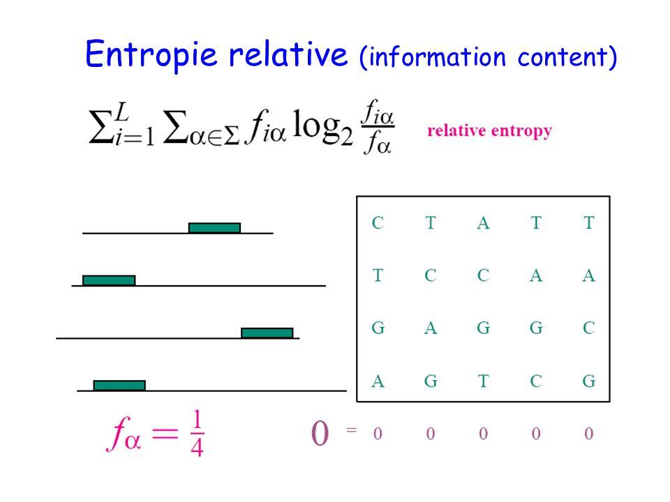 Entropie relative (information content)