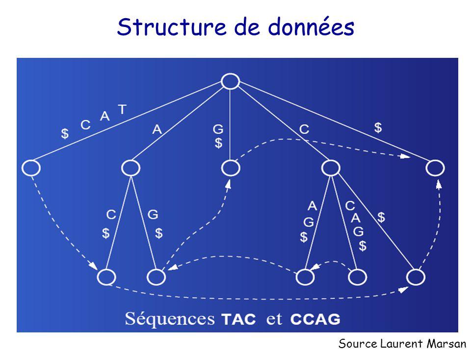 Structure de données Source Laurent Marsan