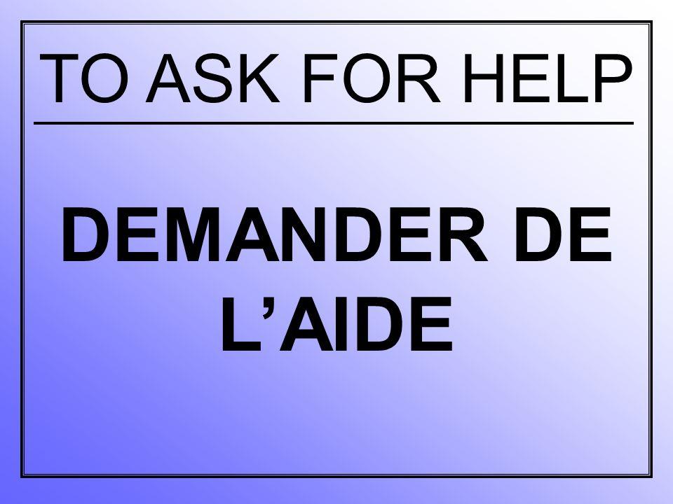aider quelqu'un à to help someone to