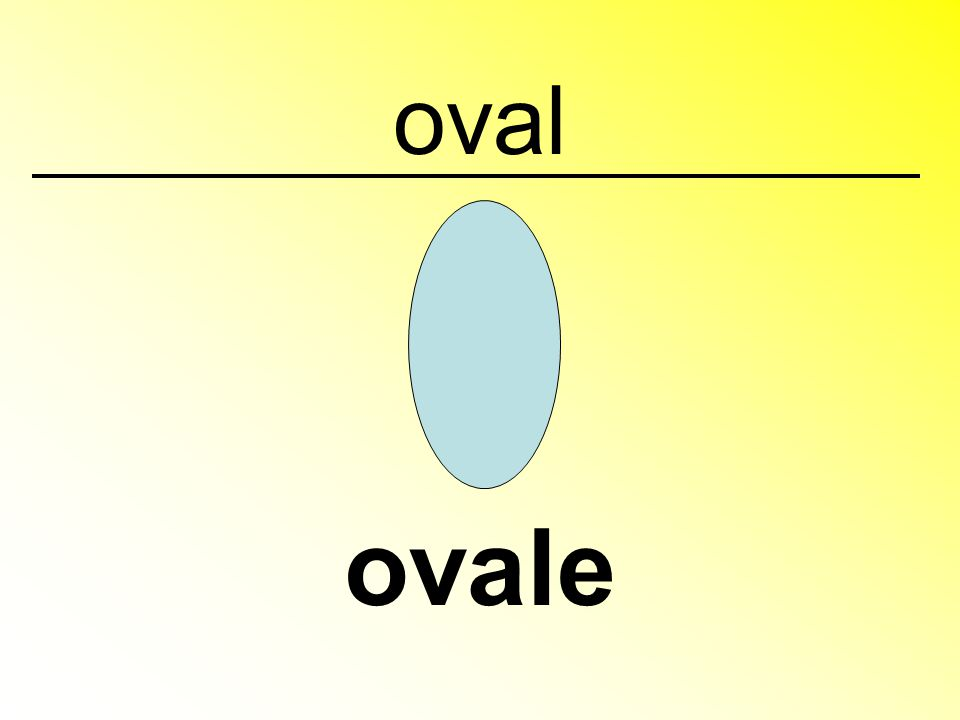 oval ovale