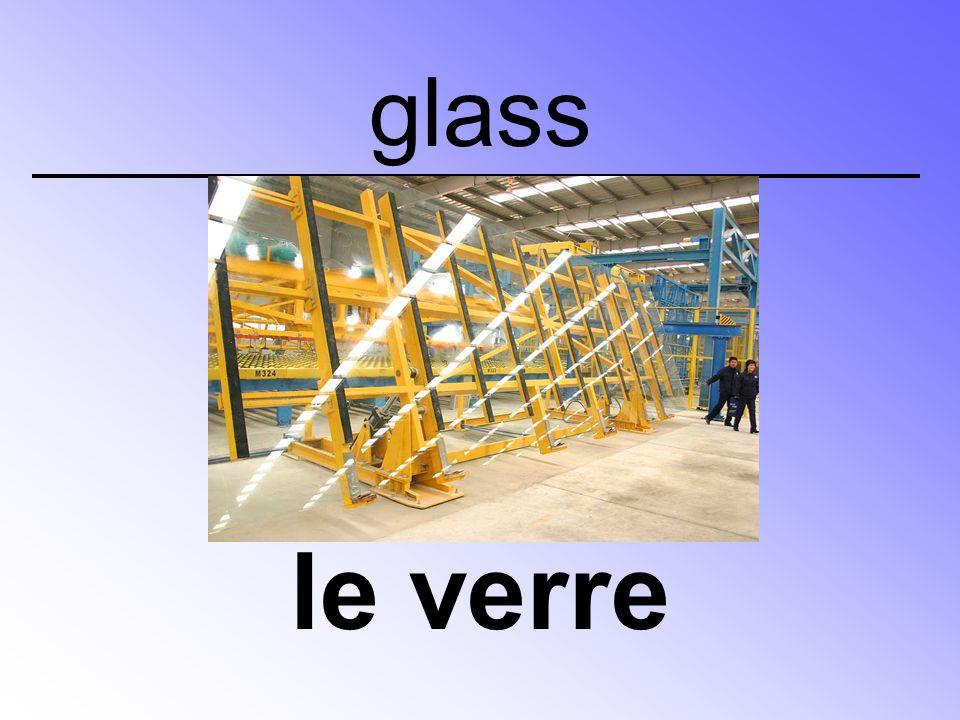 glass le verre
