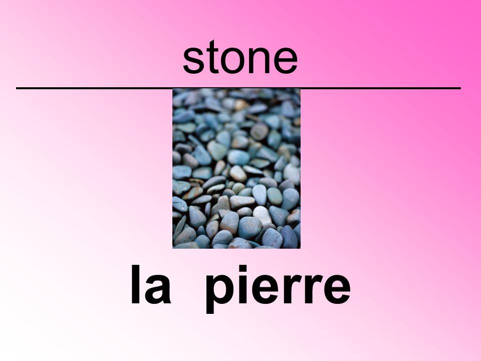 stone la pierre