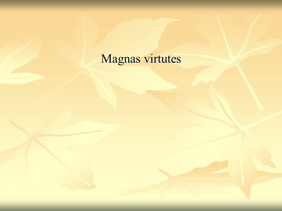 Magnas virtutes