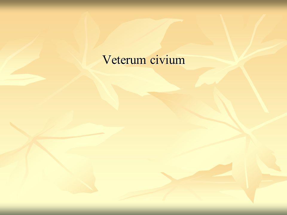 Veterum civium