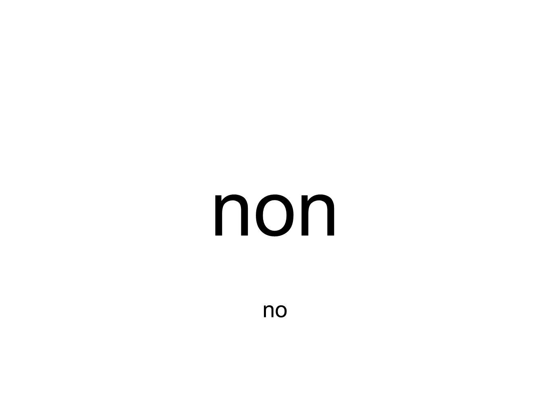 non no