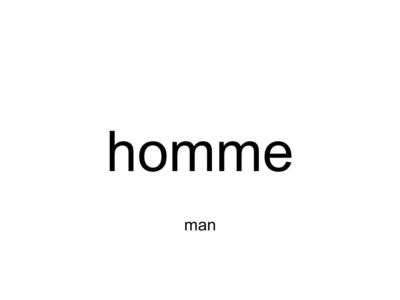 homme man