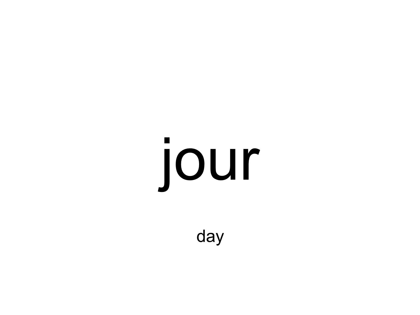 jour day