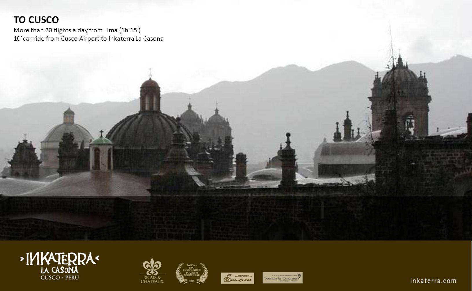 Gold List 2010 – 2011 - 2013 Inkaterra La Casona Condé Nast Traveler UK