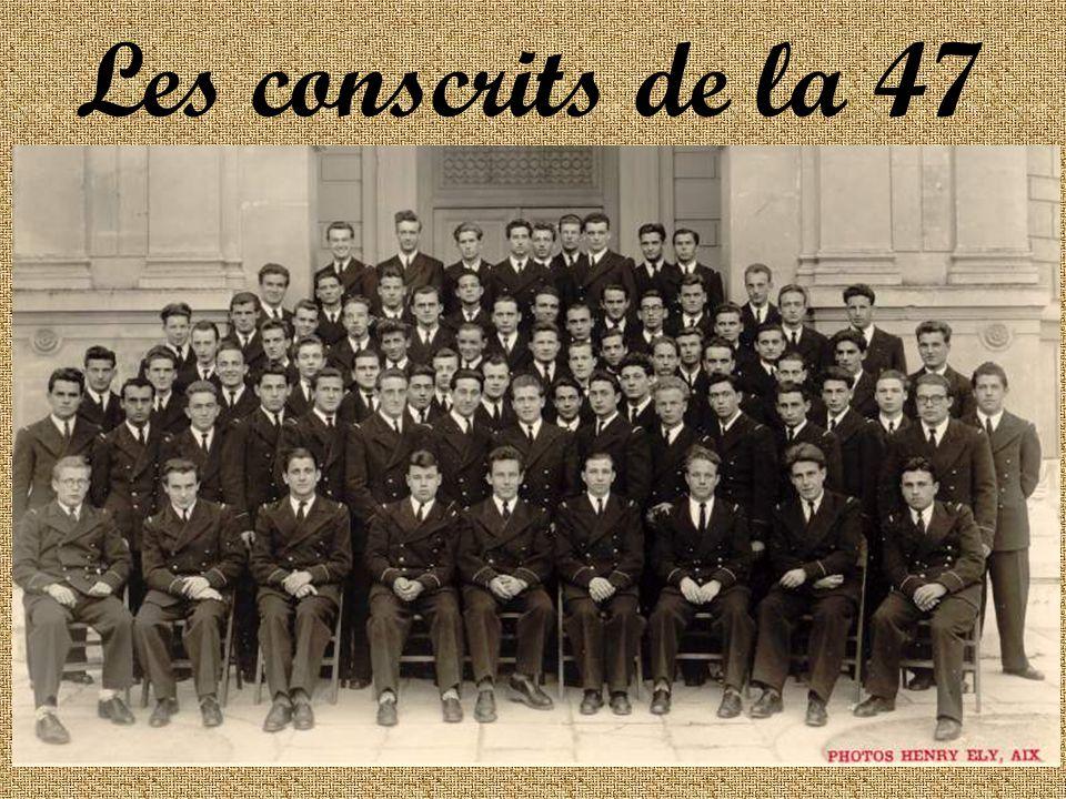 Les conscrits de la 47