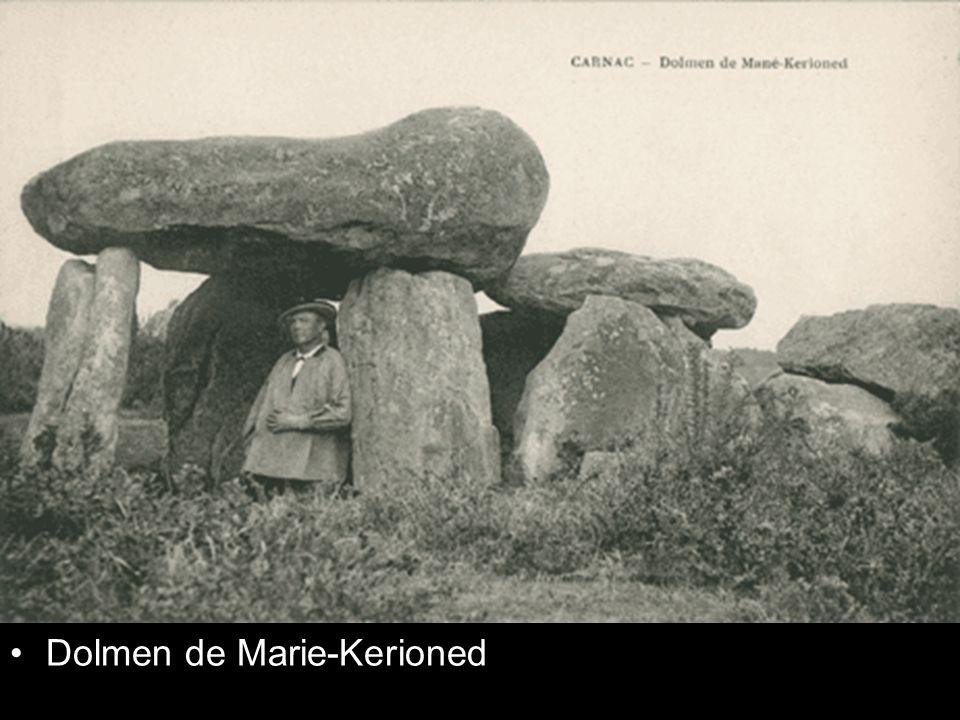 Dolmen de Marie-Kerioned