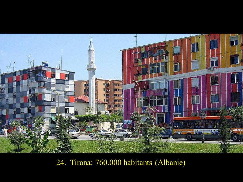25. Riga: 730.000 habitants (Lettonie)