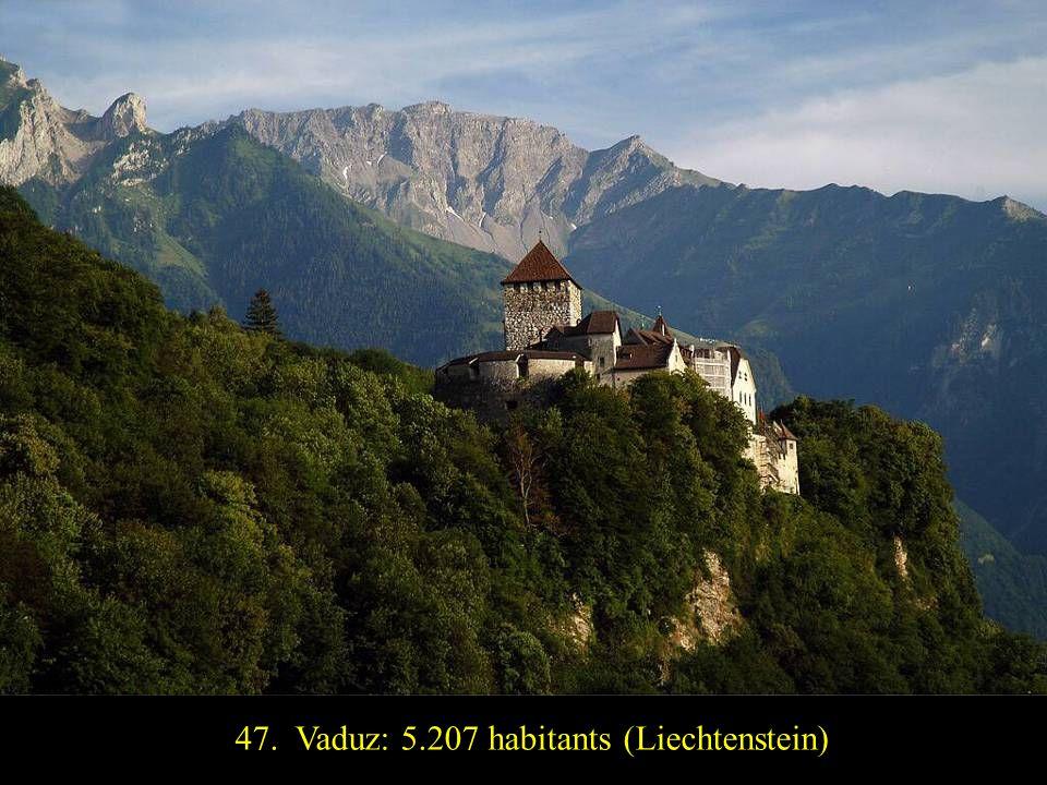 48. San Marino: 4.361 habitants (San Marino)
