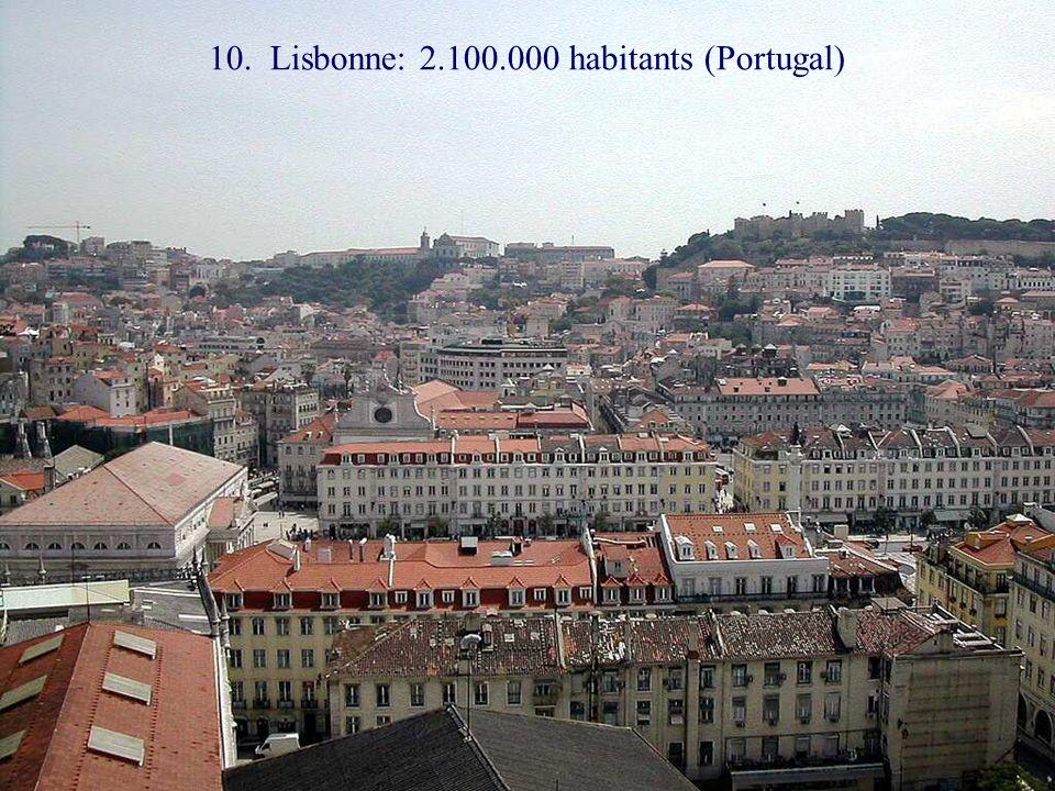 11. Bucarest: 2.000.000 habitants (Roumanie)