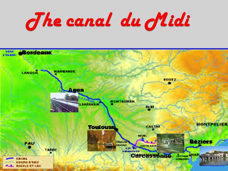 Agen Toulouse Bordeaux Carcassonne Béziers