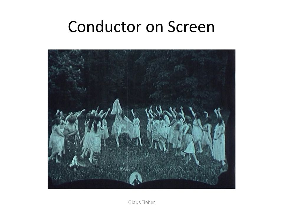 Conductor on Screen Claus Tieber