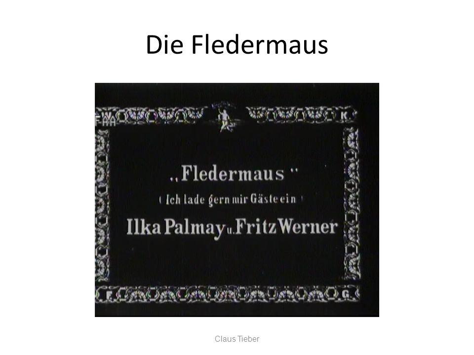 Die Fledermaus Claus Tieber