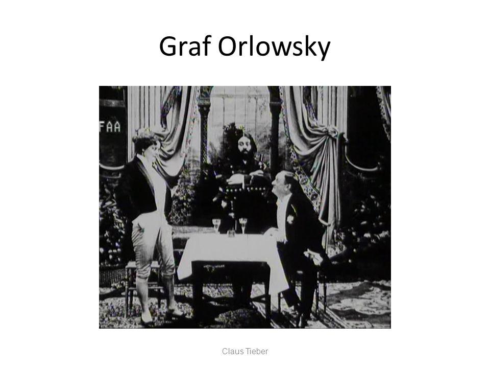 Graf Orlowsky Claus Tieber