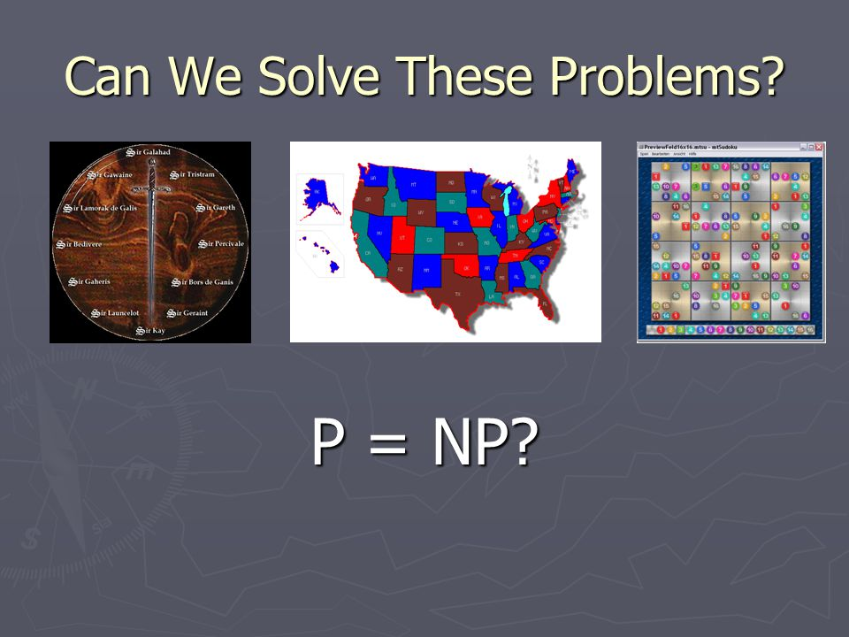 Can We Solve These Problems P = NP