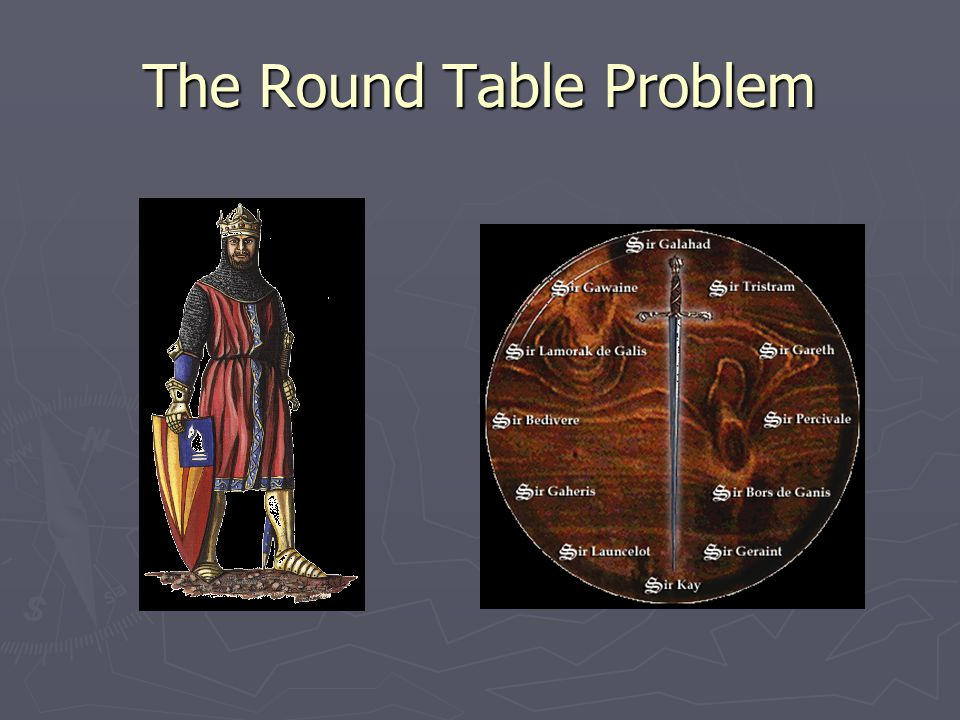 The Round Table Problem
