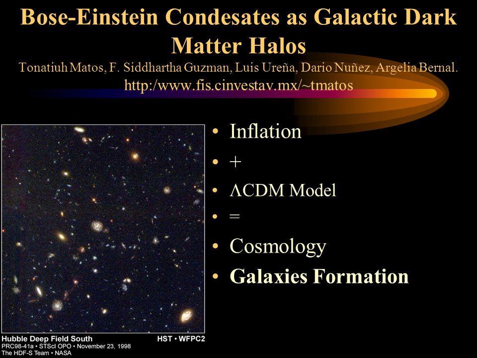 Bose-Einstein Condesates as Galactic Dark Matter Halos Tonatiuh Matos, F.