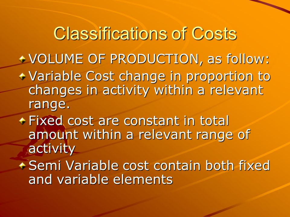 Classifications of Costs MANUFACTURING DEPARTMENTS, as follow : Producing Departments and Service Department Direct Departmental Cost and Indirect Departmental Cost Common Costs and Joint Cost