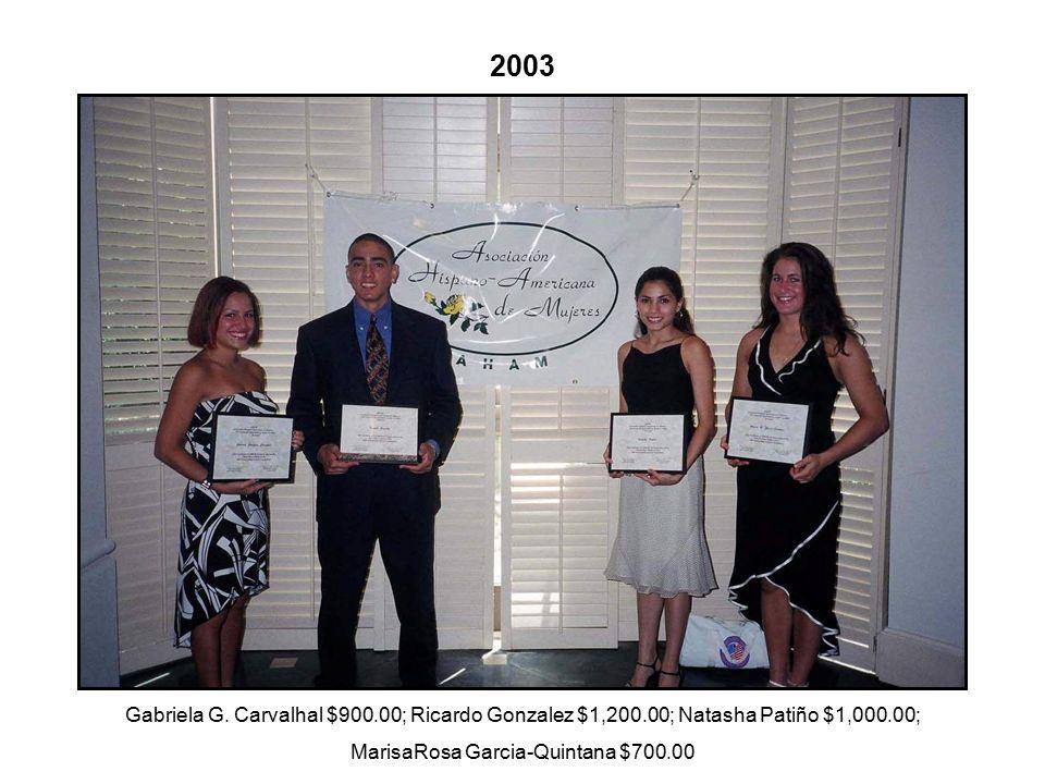2003 Gabriela G.