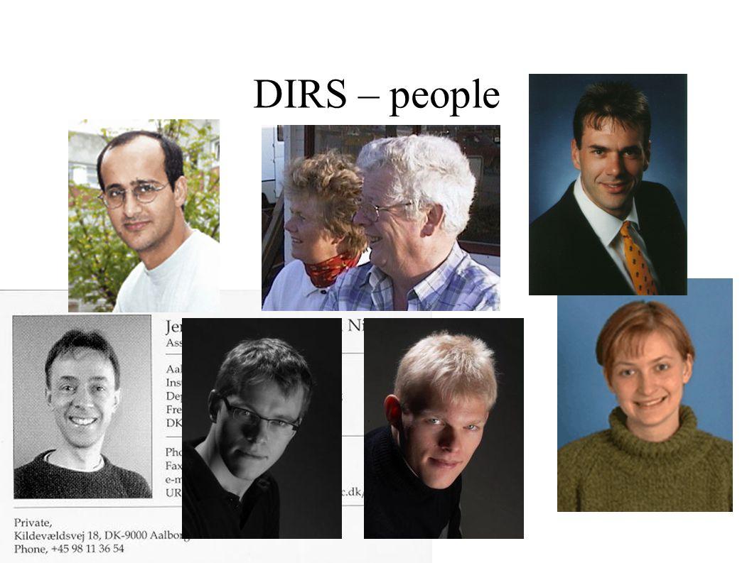 DIRS – people