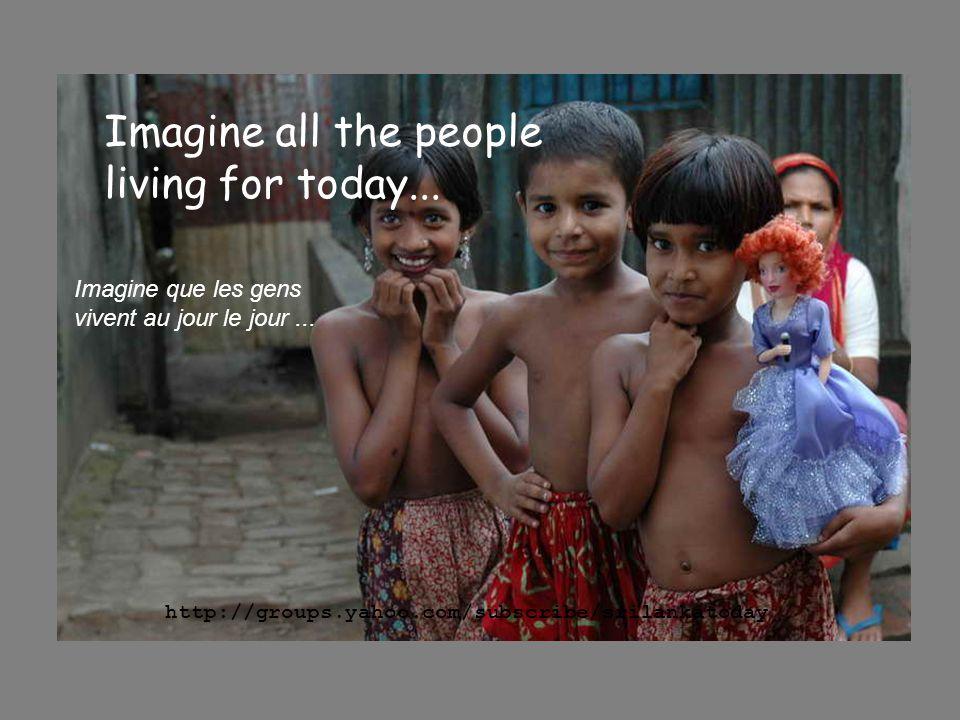 Above us only sky, Seulement le ciel au-dessus de nous, http://groups.yahoo.com/subscribe/srilankatoday