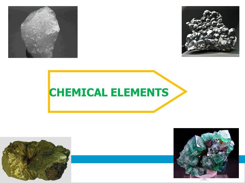 Jurusan Kimia Chemistry Department CHEMICAL ELEMENTS 6