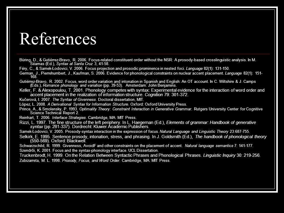 References Büring, D., & Gutiérrez-Bravo, R.2006.