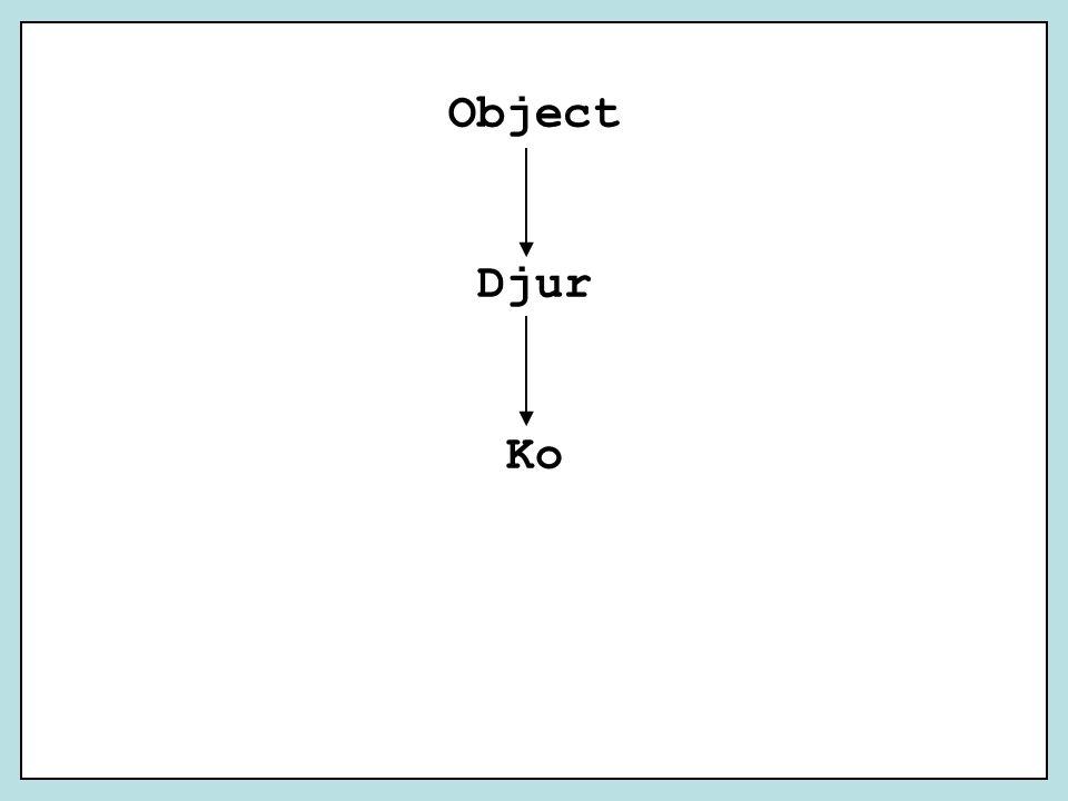 Object Djur Ko