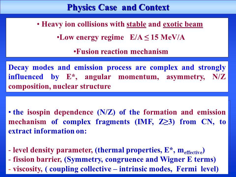 Studio con fasci stabili (LNS) e esotici a bassa energia (@SPES) dell'influenza dell'isospin sul meccanismo di Dynamical Fission in prosecuzione degli studi di Chimera a energie intermedie (P.Russotto submitted 2014) e sul break-up veloce nei sistemi pesanti (Au+Au a 15 A.MeV, I.