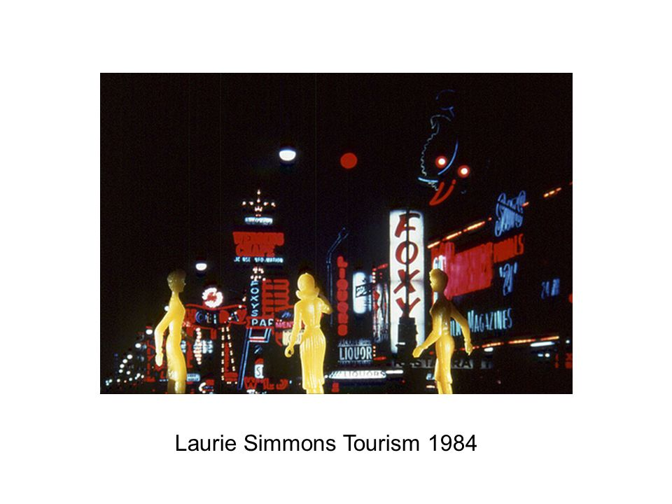 Laurie Simmons Tourism 1984