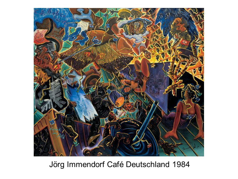 Jörg Immendorf Café Deutschland 1984