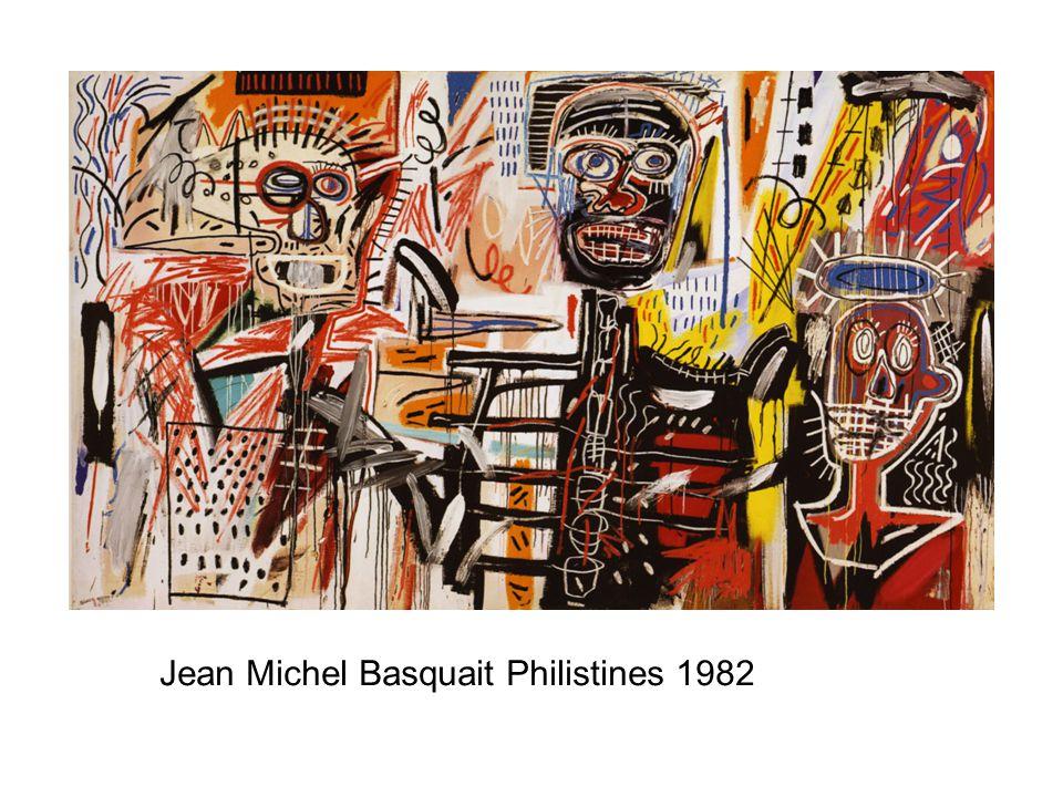 Jean Michel Basquait Philistines 1982