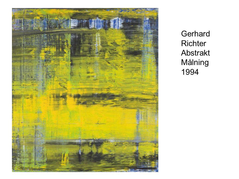 Gerhard Richter Abstrakt Målning 1994
