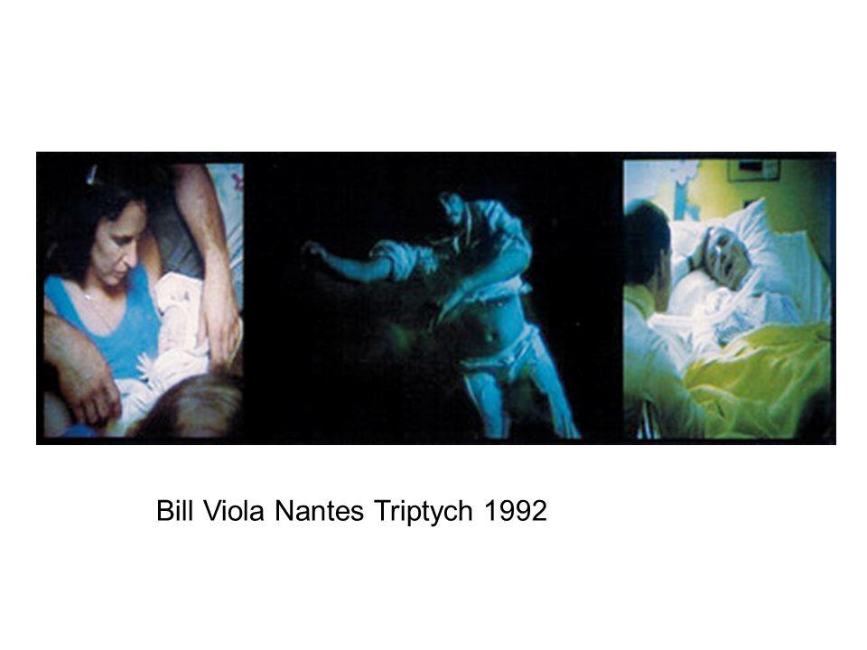 Bill Viola Nantes Triptych 1992