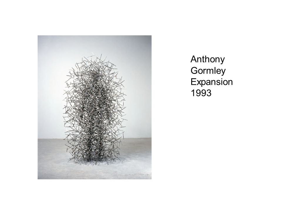 Anthony Gormley Expansion 1993
