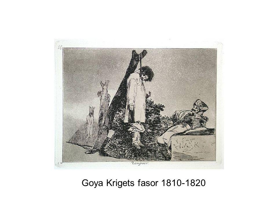 Goya Krigets fasor 1810-1820