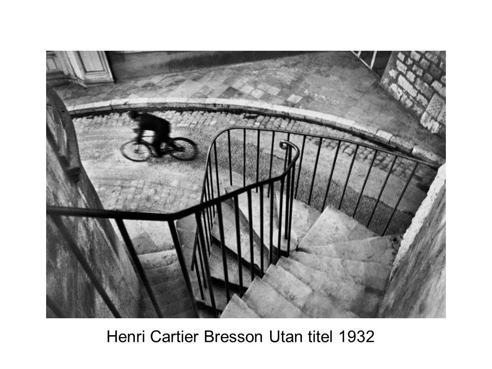 Henri Cartier Bresson Utan titel 1932