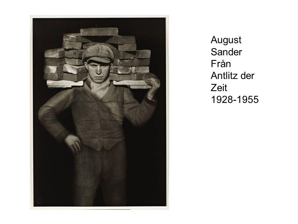 August Sander Från Antlitz der Zeit 1928-1955