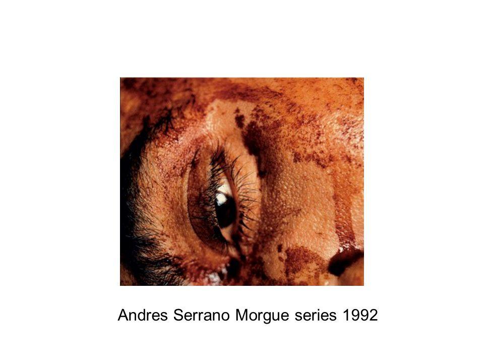 Andres Serrano Morgue series 1992