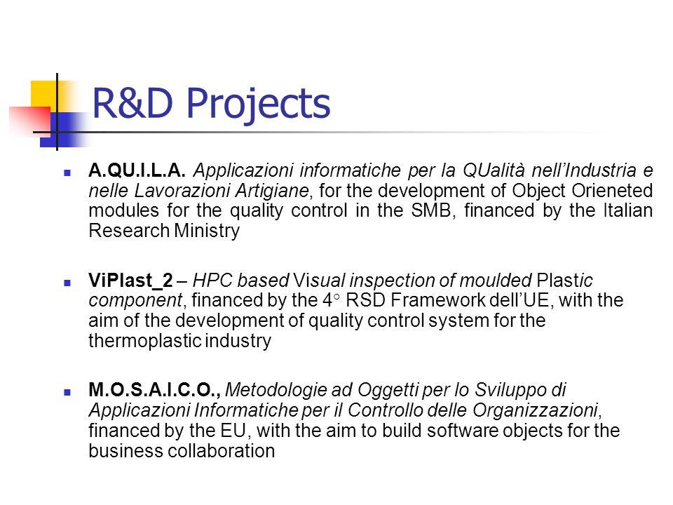 R&D Projects A.QU.I.L.A.