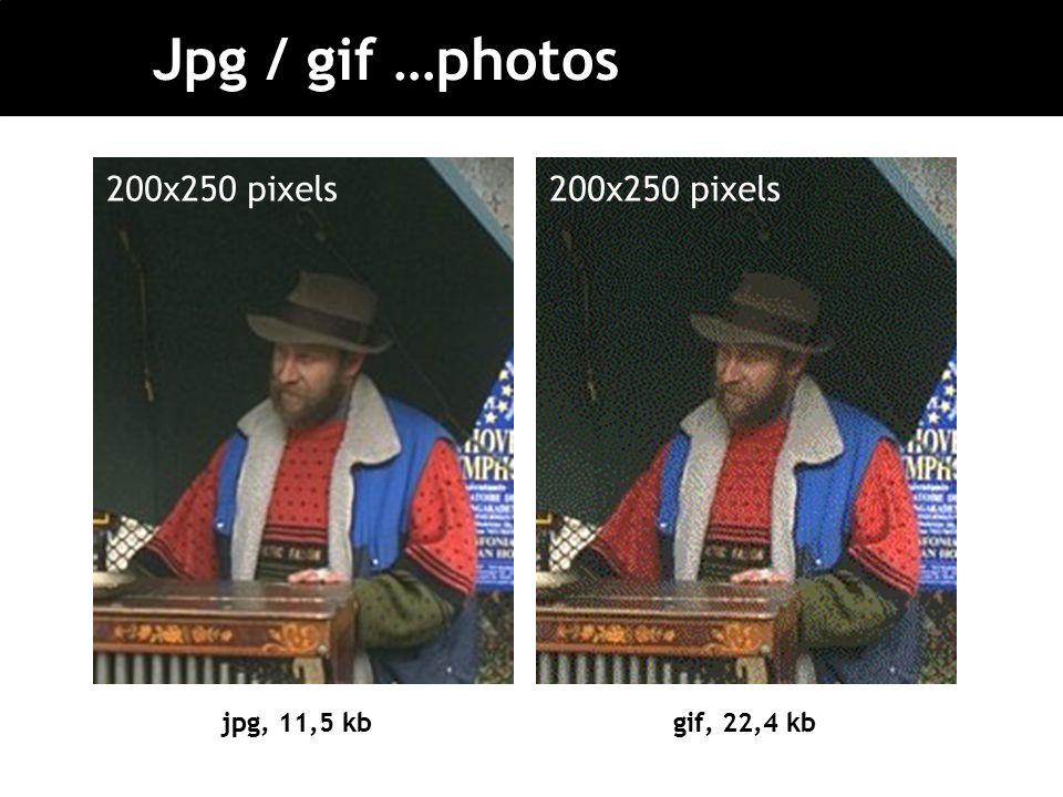 Jpg / gif …photos jpg, 11,5 kbgif, 22,4 kb 200x250 pixels