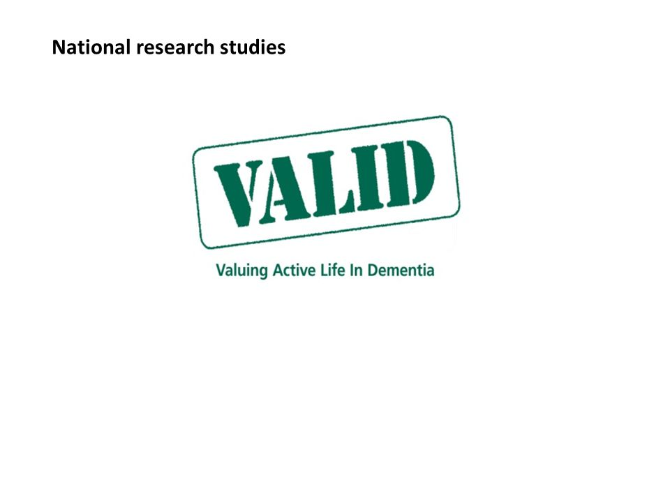 National research studies