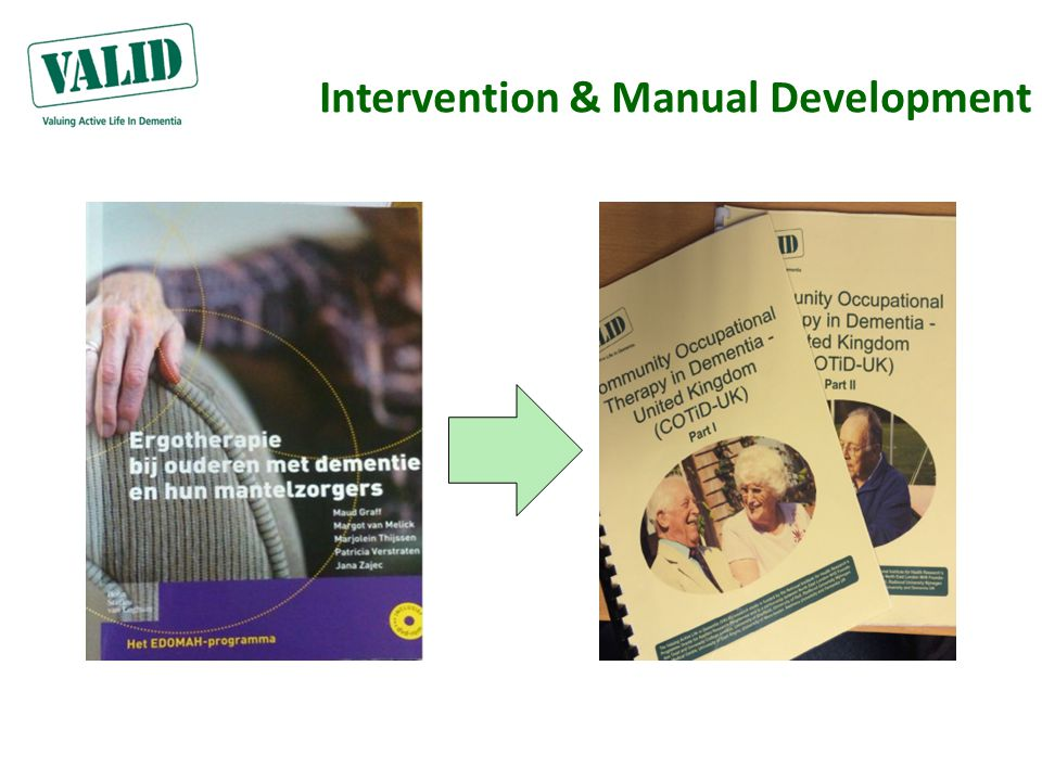 Intervention & Manual Development
