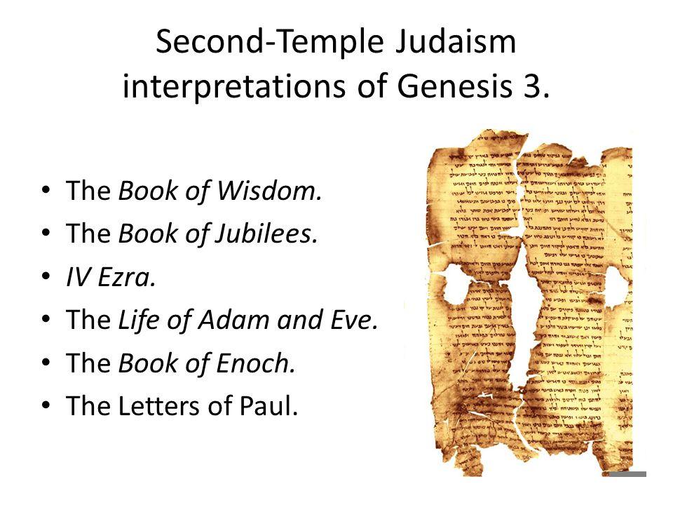 Second-Temple Judaism interpretations of Genesis 3.